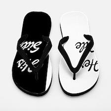 Her side/ his side Flip Flops