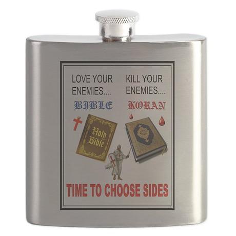 CHOOSE SIDES Flask