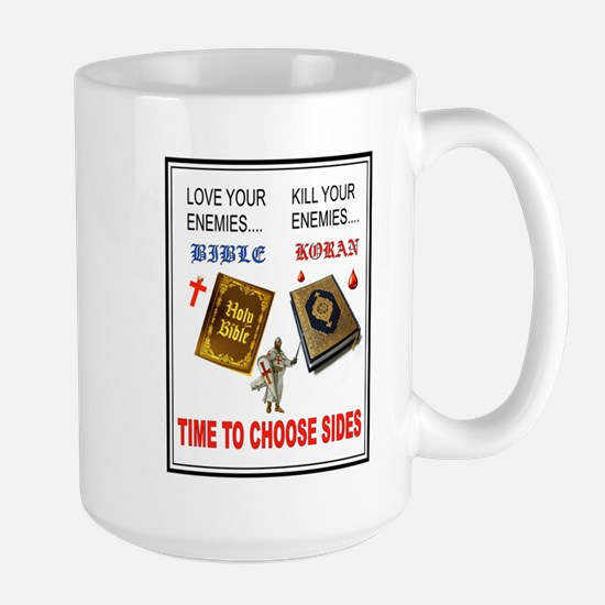 CHOOSE SIDES Mugs