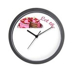Let them eat cake! Wall Clock