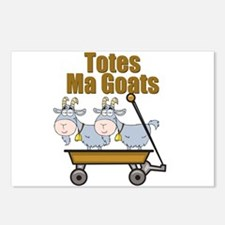Totes Ma Goats Postcards (Package of 8)