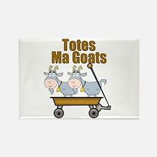 Totes Ma Goats Rectangle Magnet