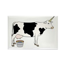 Magical Unicorn Dairy Milk Cow Magnets