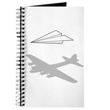 Paper Airplane Overactive Imagination Journal