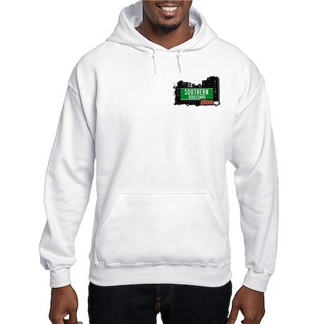 Southern Blvd, Bronx, NYC Hooded Sweatshirt