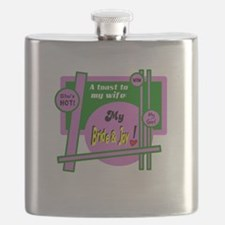 Bride And Joy-Toast To Wife Flask
