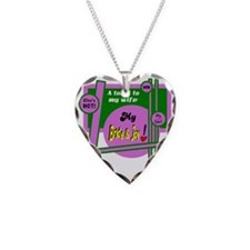 Bride And Joy-Toast To Wife Necklace