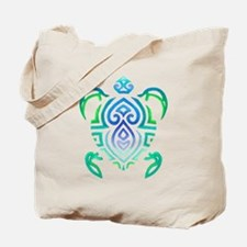 Tribal Turtle Tote Bag