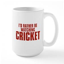 I'd Rather Be Watching Cricket Mug