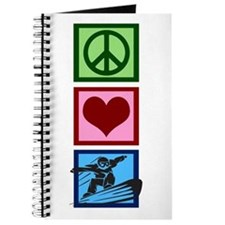 Peace Love Snowboarding Journal