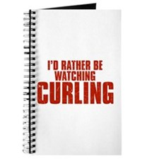 I'd Rather Be Watching Curling Journal