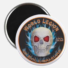 Legion of Evil Librarians Magnet