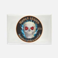 Legion of Evil Machinists Rectangle Magnet