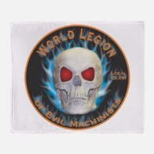 Legion of Evil Machinists Throw Blanket