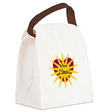 Vive LAmour/t-shirt Canvas Lunch Bag