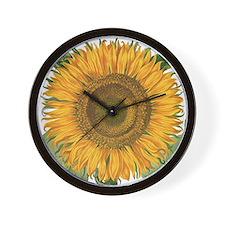 Vintage Sunflower Basilius Besler Wall Clock