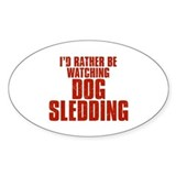 Dog sledding Bumper Stickers