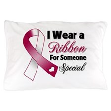 Throat Cancer Support Pillow Case