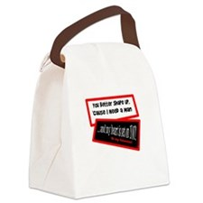 I Need A Man-Grease song lyric Canvas Lunch Bag