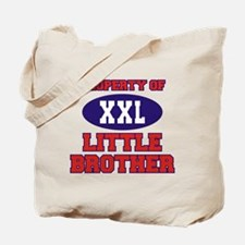 Property Of Little Brother Tote Bag