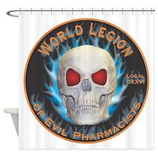 Legion of Evil Pharmacists Shower Curtain