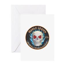 Legion of Evil Pharmacists Greeting Card