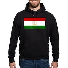 Tajikistan Flag Hoodie (Dark)