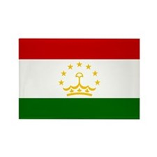 Tajikistan Flag Rectangle Magnet