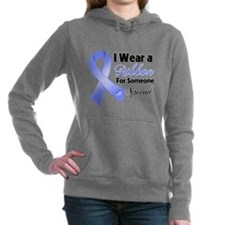 Stomach Cancer Support Hooded Sweatshirt