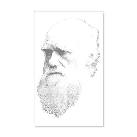 Charles Darwin 20x12 Wall Decal