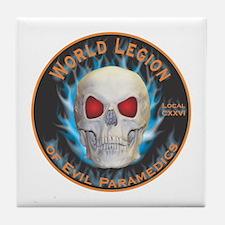 Legion of Evil Paramedics Tile Coaster