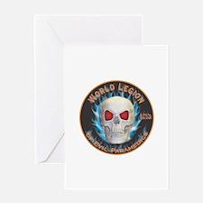Legion of Evil Paramedics Greeting Card