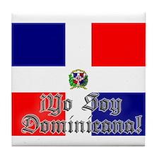 Yo soy Dominicana! Tile Coaster