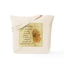 Friendship - Dog Tote Bag