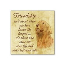 Friendship - Dog Sticker