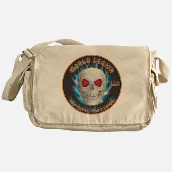 Legion of Evil Potters Messenger Bag