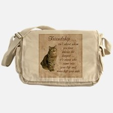 Friendship - Cat Messenger Bag