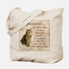 Friendship - Cat Tote Bag