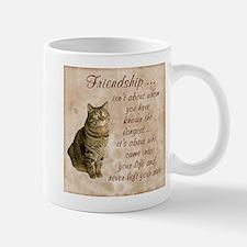 Friendship - Cat Mug