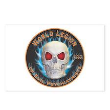 Legion of Evil Psychiatrists Postcards (Package of