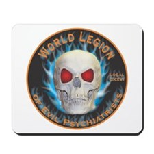 Legion of Evil Psychiatrists Mousepad