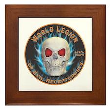 Legion of Evil Receptionists Framed Tile