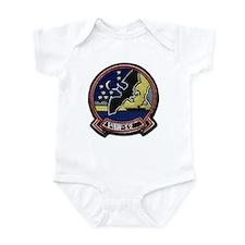 VAW 12 Bats Infant Bodysuit
