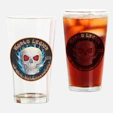 Legion of Evil Sonographers Drinking Glass