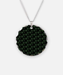 Cannabis Leaf Weed Pot Patte Necklace