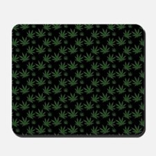 Cannabis Leaf Weed Pot Pattern Mousepad