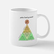 Large Paleo Food Pyramid Mugs