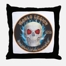 Legion of Evil Therapists Throw Pillow
