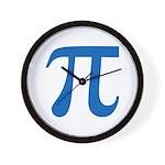 Pi Symbol Wall Clock