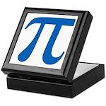 Pi Symbol Keepsake Box